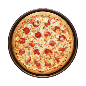 Meat-Feast Pizza image