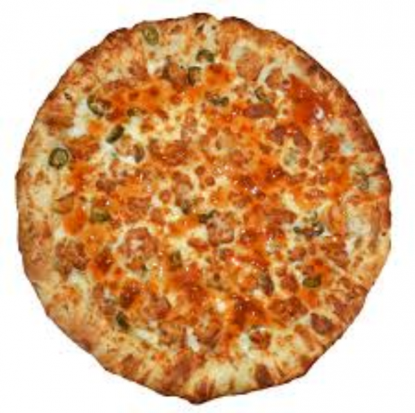hot & spicy pizza image
